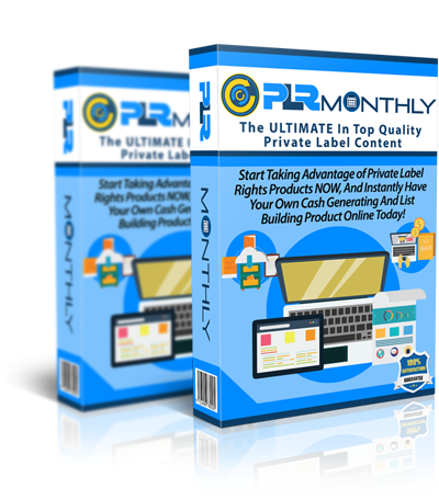 Make Money Online with PLR Monthly