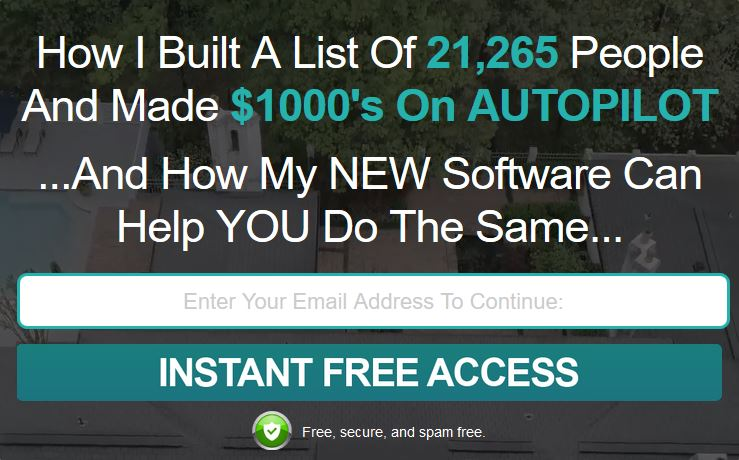 Free Viral E-mail list building